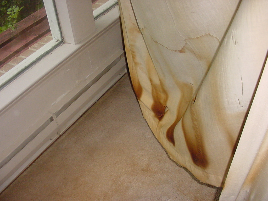 Curtains Touching Electric Baseboard Heater Fire Hazard Buss Heaters Problems